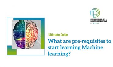 What are pre-requisites to start learning Machine learning?